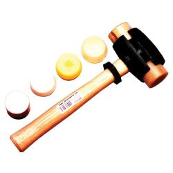 Garland Manufacturing Size-3 Split-Head Rawhide Hammer