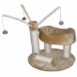 Go Pet Club 34-inch Cat Tree Toy/ Scratch Post Furniture