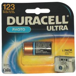 Duracell 3V Lithium (Dl123Abu) Photo Batteries