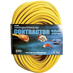 Coleman Cable Yellow Extension Cord (50-Foot)