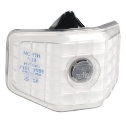 North Safety 7190-Series Non-Oil Class Particulate Respirator (Pack of 12)