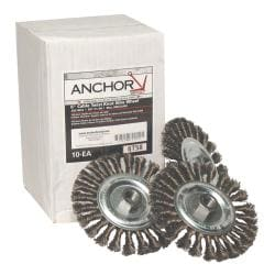 Anchor Brand 6-inch Full Twist Wheel Brush
