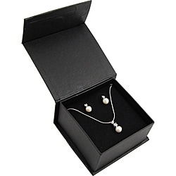 Premium Genuine Cubic Zirconia and Pearl Ensemble (Case of 100)