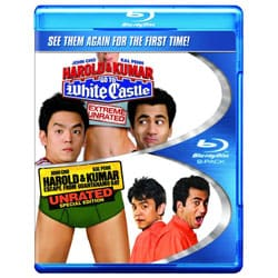 Harold & Kumar Go To White Castle/Harold & Kumar Escape From Guantanamo Bay (Blu-ray Disc) 8656921