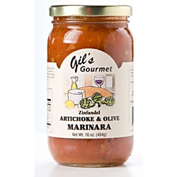 Gil's Gourmet Hearty Artichoke and Olive Marinara Sauce (Set of 3)