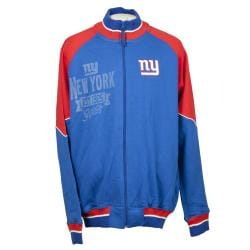 New York Giants Full Zip Cotton Track Jacket