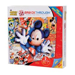 Mega Bloks 200-piece 3D Mickey Mouse Puzzle