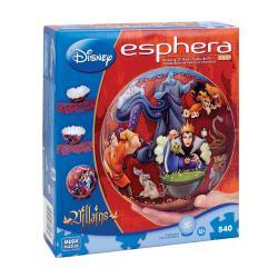 Disney Villains 9-inch 540-piece 3D Globe Puzzle