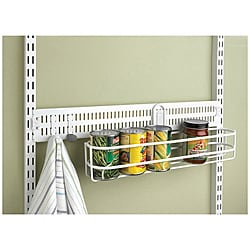 Organized Living freedomRail White 24-inch Spanner