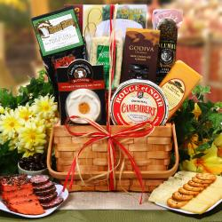 Ultimate Meat and Cheese Collection Fresh Gourmet Gift Basket