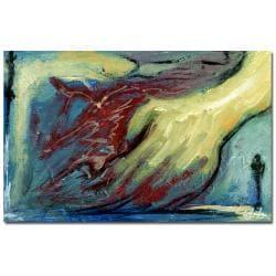 Francisco 'Mis Manos' Canvas Art