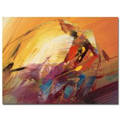 Ricardo Tapia 'A New Day' Canvas Art 8690172