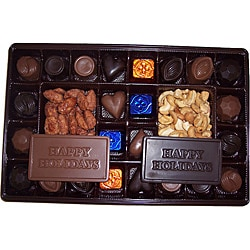 Lang's Chocolates Happy Holiday 26-piece Assorted Milk and Dark Chocolates 8703011