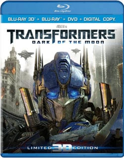 Transformers: Dark of the Moon (Ultimate Edition) 3D (Blu-ray/DVD) 8703922