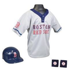 Franklin Sports Kids MLB Boston Red Sox Team Set
