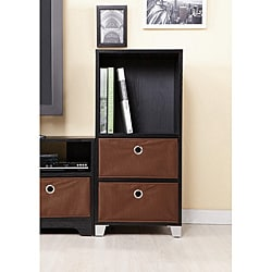 Furniture of America Fresno Collection Multi-Purpose Tower with Storage Boxes