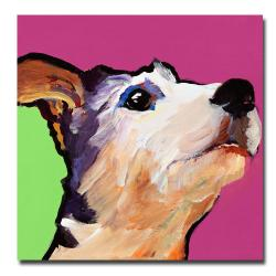 Pat Saunders-White 'Ollie' Square Canvas Art