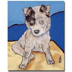 Pat Saunders-White 'Reba Rae' Canvas Art