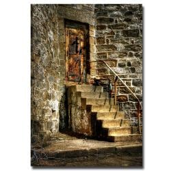 "Lois Bryan 'The Locked Door' Canvas Art (32"" x 22"")"