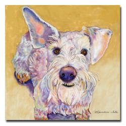 Pat Saunders-White 'Scooter' Small Canvas Art