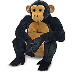 Melissa & Doug Plush Chimpanzee Stuffed Animal