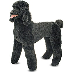 Melissa & Doug Plush Standard Poodle Stuffed Animal