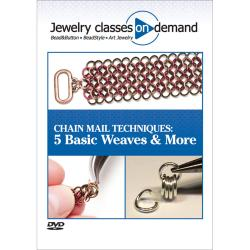 Kalmbach Publications 'Chain Mail Techniques: 5 Basic Weaves' CD ROM Book