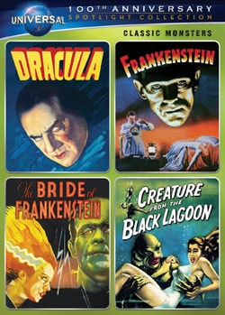 Classic Monsters Spotlight Collection (DVD) 8730198