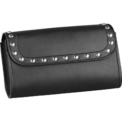 Raider Black Studded Windshield Bag