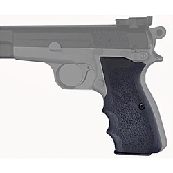 Hogue Browning Hi-Power 9mm with Finger Grooves Rubber Grip