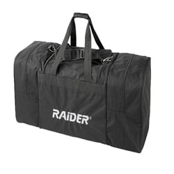Raider BCS-1000 Black 800-denier Polyester Deluxe Cargo Duffel Bag