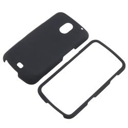 Black Snap-on Rubber Coated Case for Samsung Galaxy Nexus i515