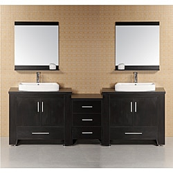 Design Element Washington Modular Double-Sink Bathroom Vanity Set