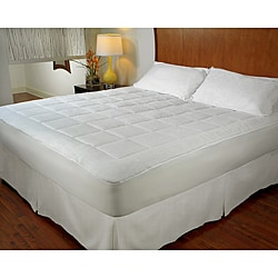 Dream Cloud Micro Plush Mattress Pad (As Is Item)