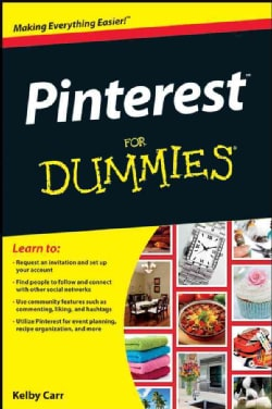 Pinterest for Dummies (Paperback)