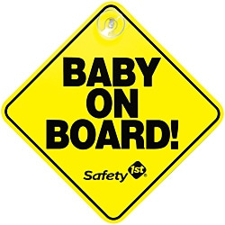 Safety 1st Baby On Board Signs (Pack of 2) 8755564