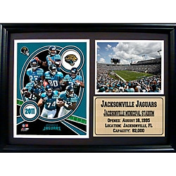 2011 Jacksonville Jaguars 12 x 18 Photo Stat Frame