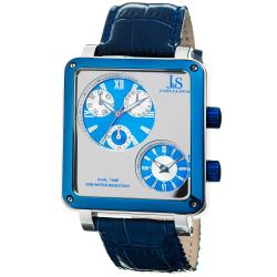 Joshua & Sons Men's Dual Time Multifunction Watch