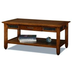Rustic Oak Coffee Table