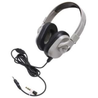 Califone Headphone, In-line Volume, PC,Mac, Wired Via Ergoguys