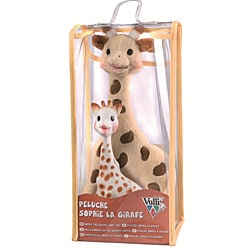Vulli Sophie the Giraffe Plush Toy and Teether Set 8793333