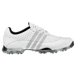 Adidas Men's adiPURE Nuovo White/ Black Golf Shoes