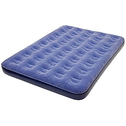 Pure Comfort Low Profile Full Size Flock-Top Air Bed