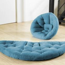 Horizon Blue Fresh Futon Nido
