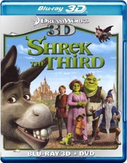 Shrek The Third 3D (Blu-ray/DVD) 8799869