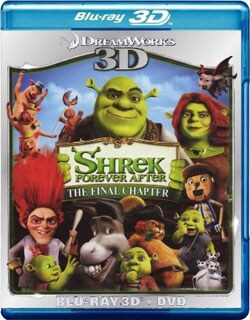 Shrek Forever After 3D (Blu-ray/DVD) 8799870