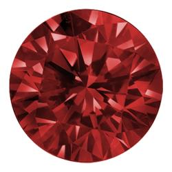 Star Legacy Pet Memorial Diamond - .15 CT Round-Cut Fancy Red Diamond