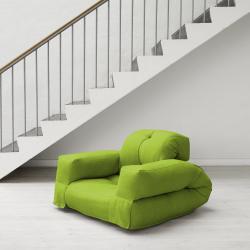 Hippo Lime Fresh Futon