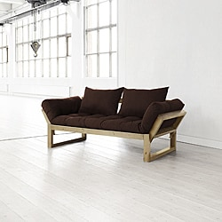 Fresh Futon Chocolate Brown Edge