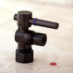 Corrosion-Resistant Single-Handle Oil-Rubbed Bronze Angle Valve Stop